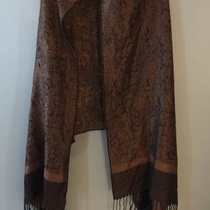 Brown scarf/wrap